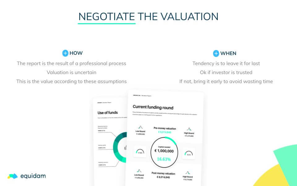 Startup Valuation: Negotiate the Valuation